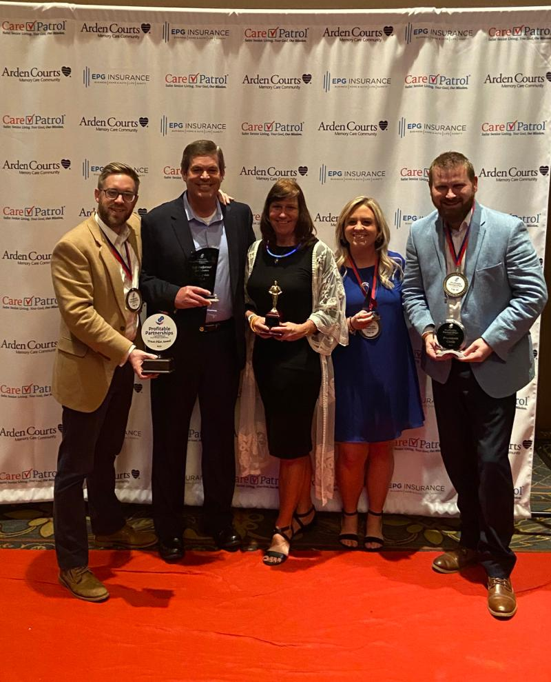CarePatrol of Northeast Ohio Franchise Owners Receive 2019 Franchisee of the Year Award - News: Read the Latest from Best Life Brands - carepatrol_-_group_photo